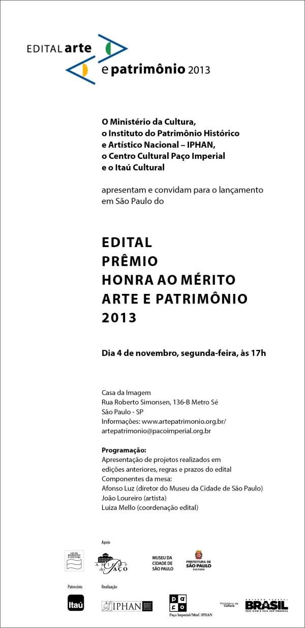 Convite eletro^nico Sa~oPaulo 2013