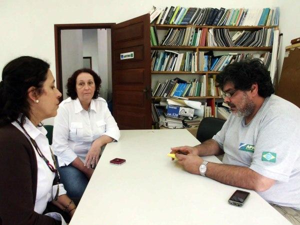 Também foi feito um encontro com Márcio Fernandes, Chefe da APA CIP - Cananéia-Iguape-Peruíbe para promoção de ações conjuntas com o IcmBio.