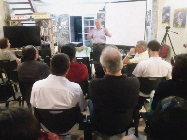 O museólogo Júlio Abe discorreu sobre o patrimonio imaterial do Vale do Ribeira
