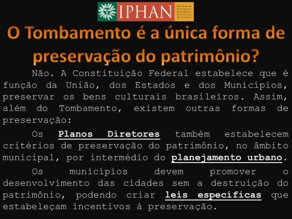 iphan tombamento